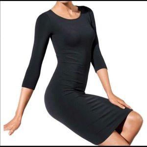Wolford Barcelona black bodycon dress